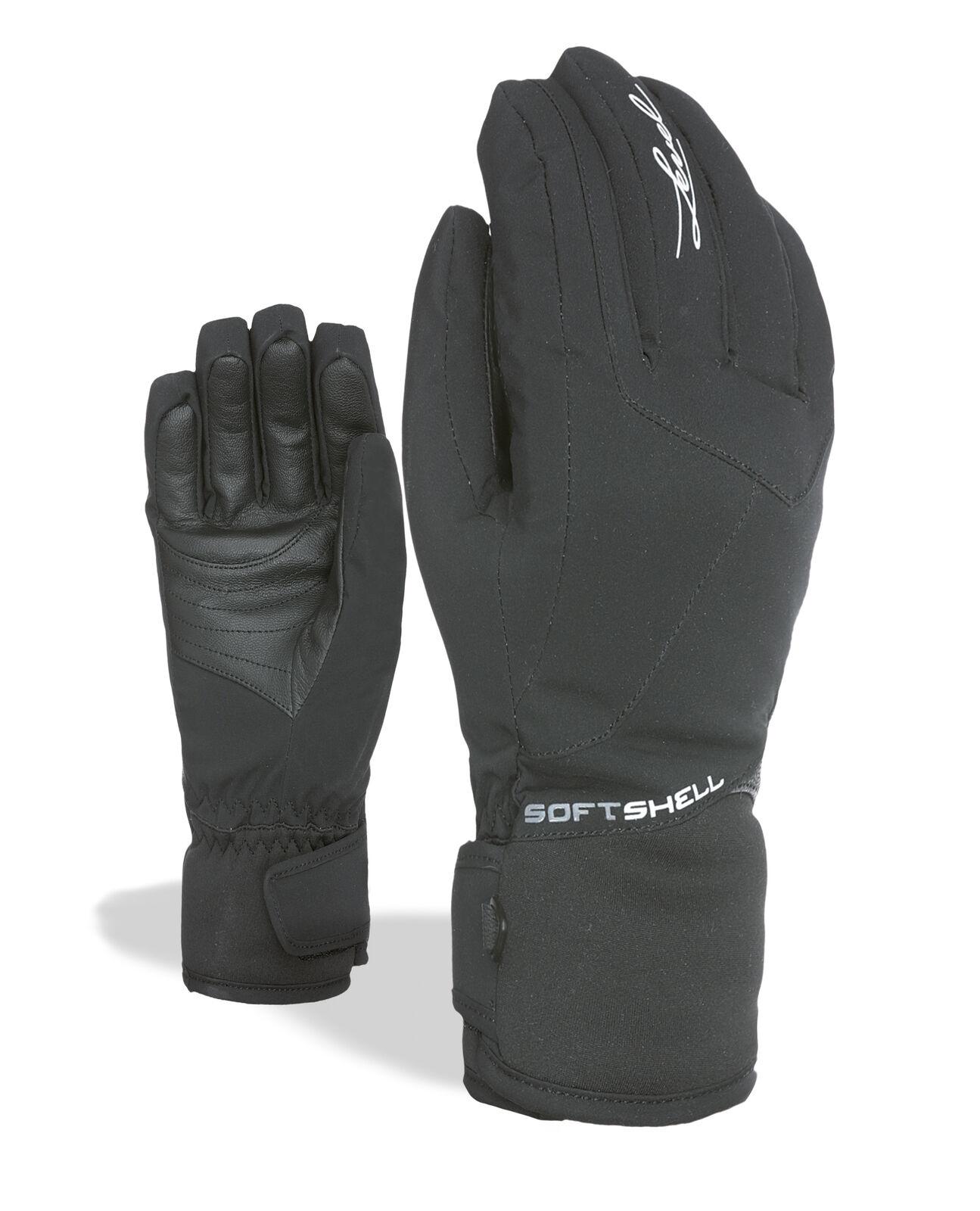 Level Handschuh Zoe W black wasserdicht atmungsaktiv wärmend