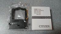 Brand Citizen C-650 Printer Ribbon Cassette Real Black P/n:opt-650 Am37901
