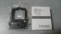 Brand Citizen C-650 Printer Ribbon Cassette Real Black P/n:opt-650 Am37901