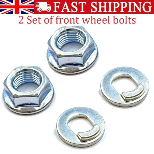 2 Set Front Wheel Nut Bolt Screw For Xiaomi-M365 Pro Electric Scooter UK