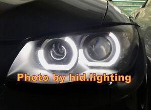 Image Is Loading E92 E93 C Shape Crystal Angel Eye Halo
