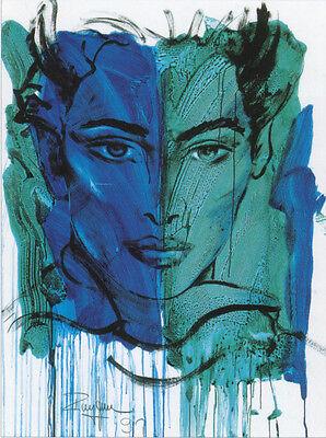 Rolf Knie The Virtue of Patience Poster Kunstdruck Kunstdrucke Bild  60x80 cm