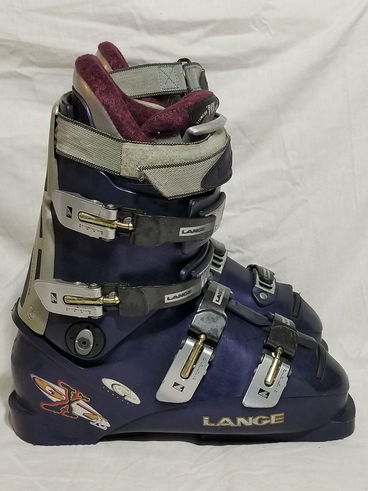 Ski Boots LANGE GX7 Downhill W 298mm G Force Concept TGL Tongue Gel