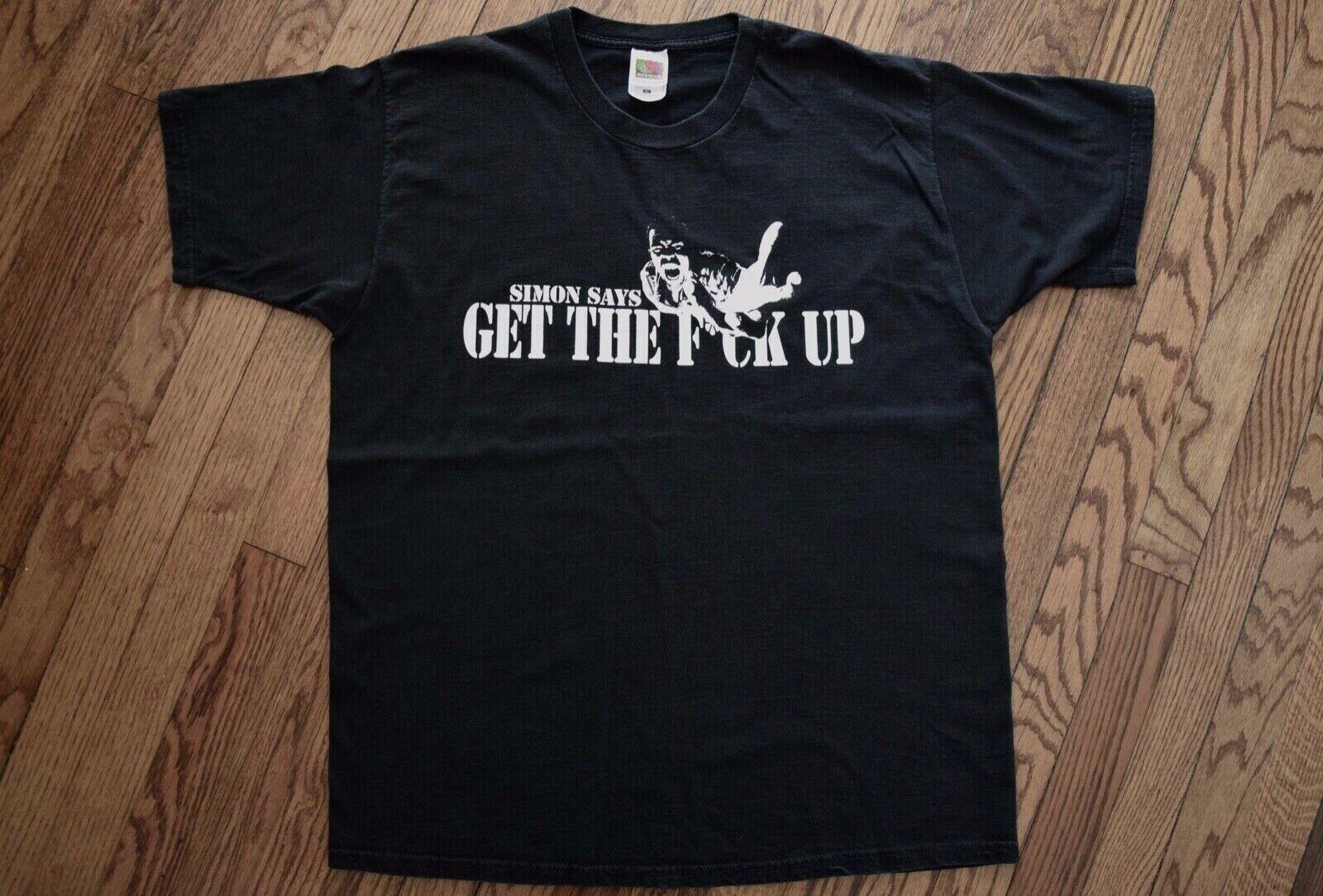 1999 pharoahe monch RAWKUS RECORDS promo vtg 90s rap hip hop blackstar T-shirt