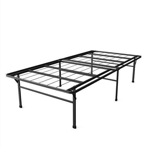Twin XL Heavy Duty 18-inch High Rise Metal Platform Bed Frame