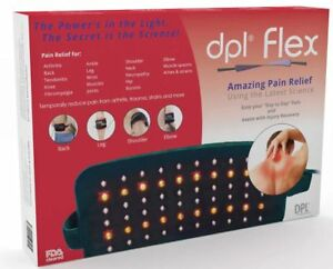 dpl-Flex-Pad-Pain-Relief-LED-Light-Therapy-Wrap-System-Back-Full-Body-NEW