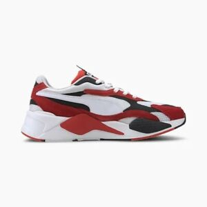 Détails sur Puma RS X3 Super RED WHITE MEN Lifestyle Baskets Chaussures De Course Nouveau 372884 01 afficher le titre d'origine