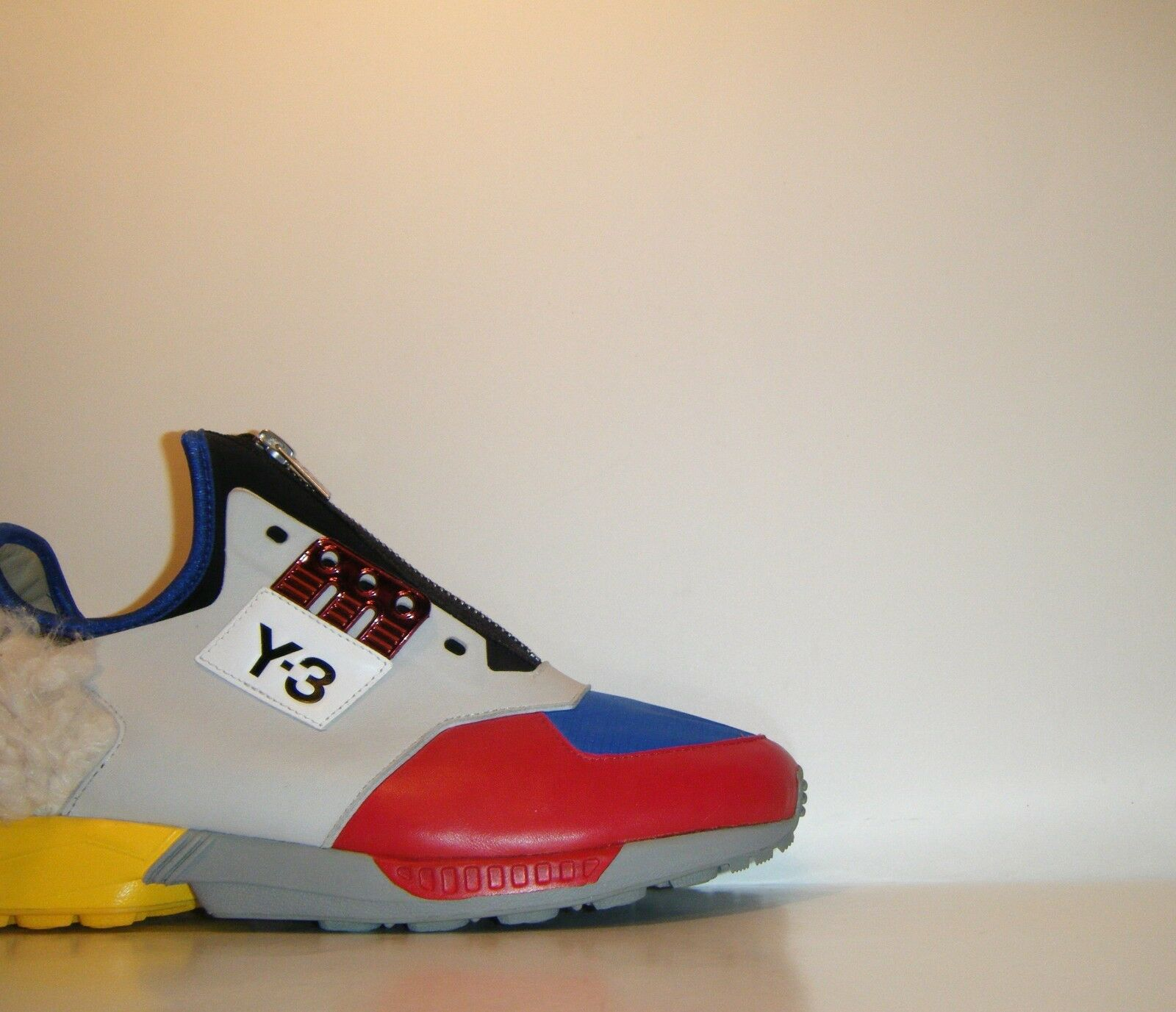 Womens Adidas Y3 ZX Zip Multicolor Flux Flux Flux  Sz. 8 ( Mens 7 ) NMD Ultra Boost M21421 d5d9d2