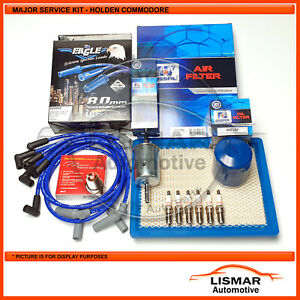 Major Service Kit for Holden Commodore V6 3.8ltr VT VX VU VY With Eagle Leads