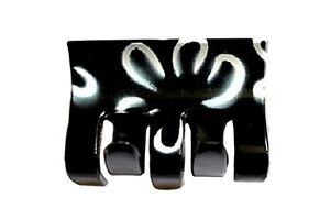Set of 4 Pretty Black Hair Claw Clamp Clip Unique Bull Dog Design Uniqe Style