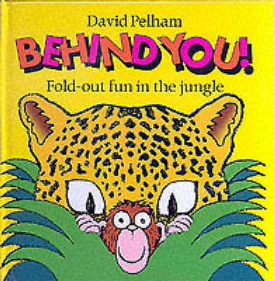 Behind You!: Fold-out Fun in the Jungle-ExLibrary