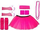 da donna Rosa Tutù Neon Vestito per addio al nubilato party UV rete 8-16 & 16-22