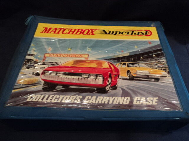 MATCHBOX SUPERFAST-LESNEY-CORGI 1950-80's Large Collection modèles 48 VG-EX