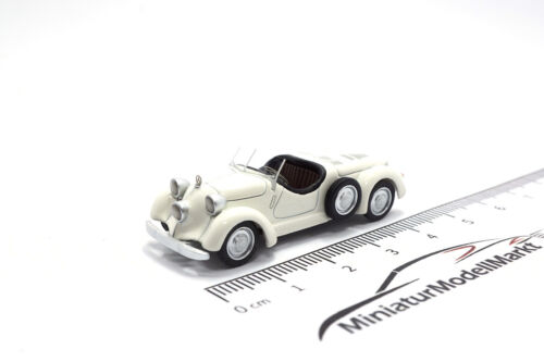 Sport Roadster-color beige claro #87201 w30 bos-models mercedes 150 1935-1:87