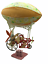 Calico-Critters-Sylvanian-Families-Sky-Ride-Adventurer-Balloon-Zeppelin-Hot-Air thumbnail 1
