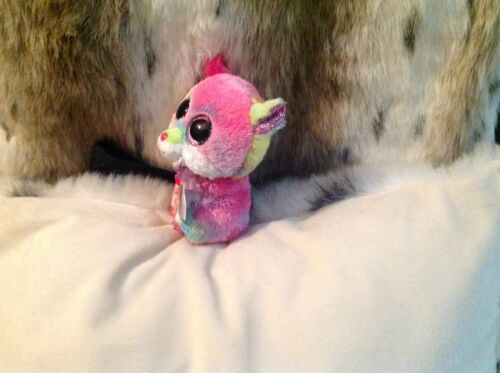 """RODNEY THE MULTI COLORED BEANIE BOO HAMPSTER MWMT 6/"""""""