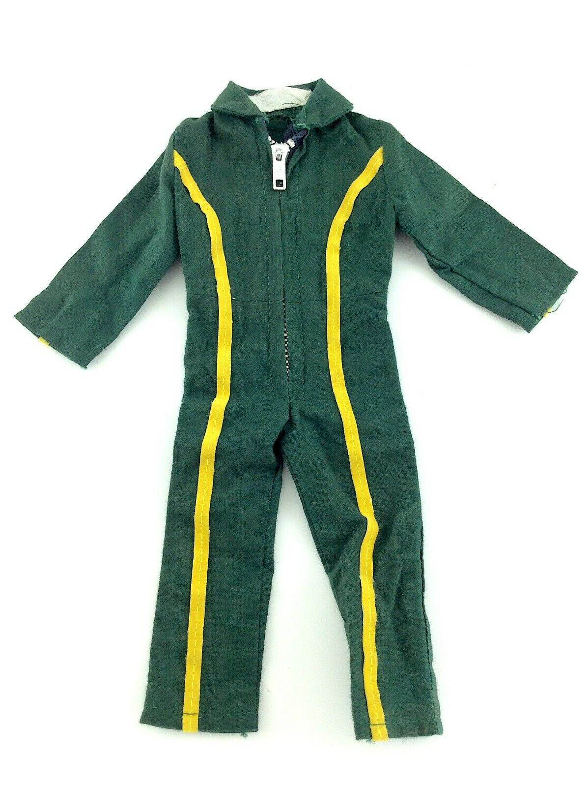 Jumpsuit Grün With Gelb Stripes Palitoy Action Man UK Helicopter Pilot L570