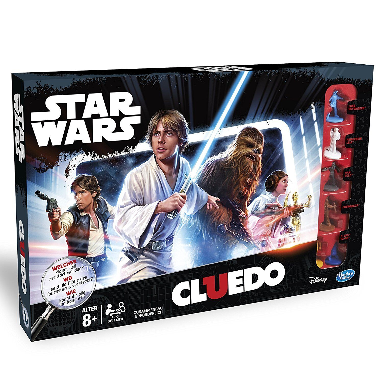 Star Wars El Cluedo Hasbro Clue Game Game Game Star Wars Edition Niños Adultos Juego d Rol 3b51c9