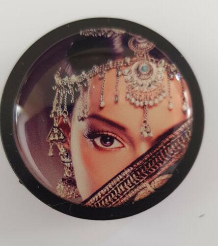 Magnet Magnete Kühlschrankmagnete Motivmagnete Büro Pinnwand Frau Indien 3