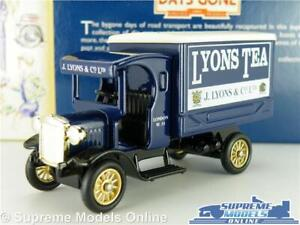 Confiant Dennis Truck Lorry Van Model Lyons Tea 1:64 Scale Approx Lledo Days Gone Dg66 K8 Retarder La SéNilité