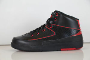 timeless design 55276 d41f6 Image is loading Nike-Air-Jordan-Retro-2-Alternate-87-Black-