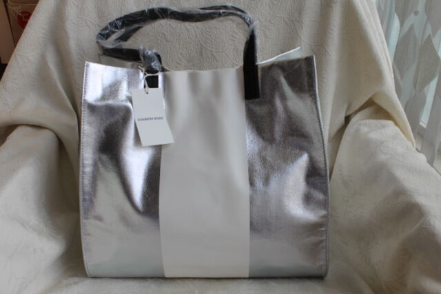 Country Road Tote Bag -silver(cr Womens ACC Soft Bags) for sale ... 91ab676c62560