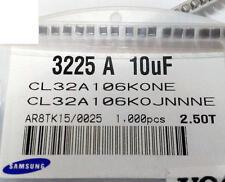 10 Stück 10uF 16V SMD 1210 CERAMIC Capacitors X5R 10% SAMSUNG series CL (M1626)