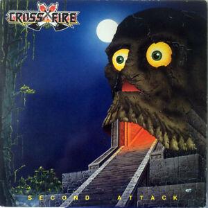CROSSFIRE-Second-Attack-2-bonus-tracks-CD-DIGIPAK-FACTORY-SEALED-NEW-1984-2012