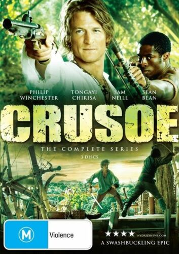 1 of 1 - Crusoe - The Complete Series (DVD, 2010, 3-Disc Set)