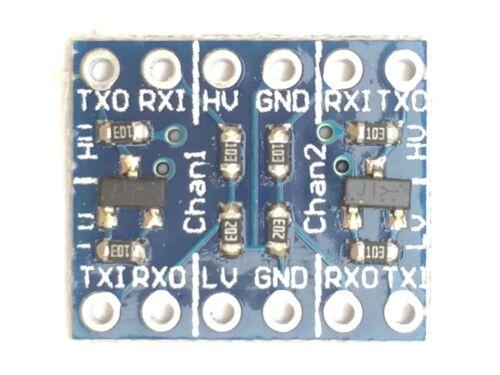 2-Kanal Bidirektionales Logic Level Konverter Modul3,3V/<-/>5VArduino I²C