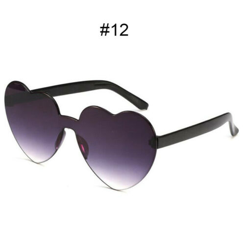 Fashion Love Heart Shape Frame Sunglasses Womens Retro UV400 Sunglass Eyeglasses