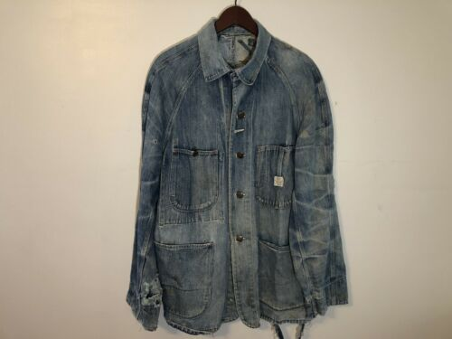 RARE Vintage 50s Super Pay Day Denim Chore Jacket
