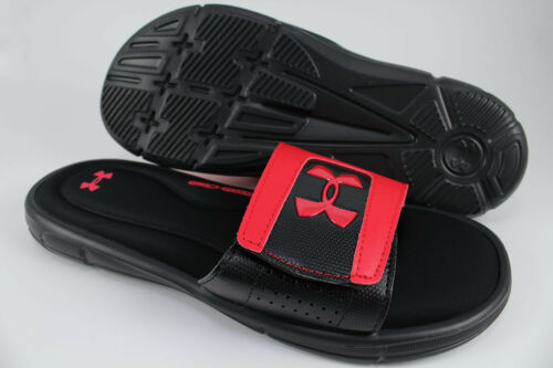 Under Us Armour Slide Adjust rood V Ignite Strap Zwart Herenmaat Sport Sandalen Ua ZP4dqrxZ