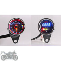 Led Speedometer Tachometer Fuel Gauge For Motorcycle Chopper Cruiser Universal