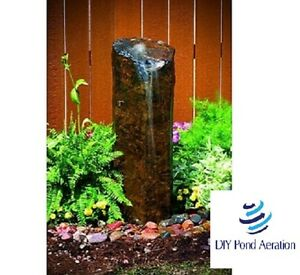 Charmant Image Is Loading Mini Basalt Fountain Column 30 034 Tall Water