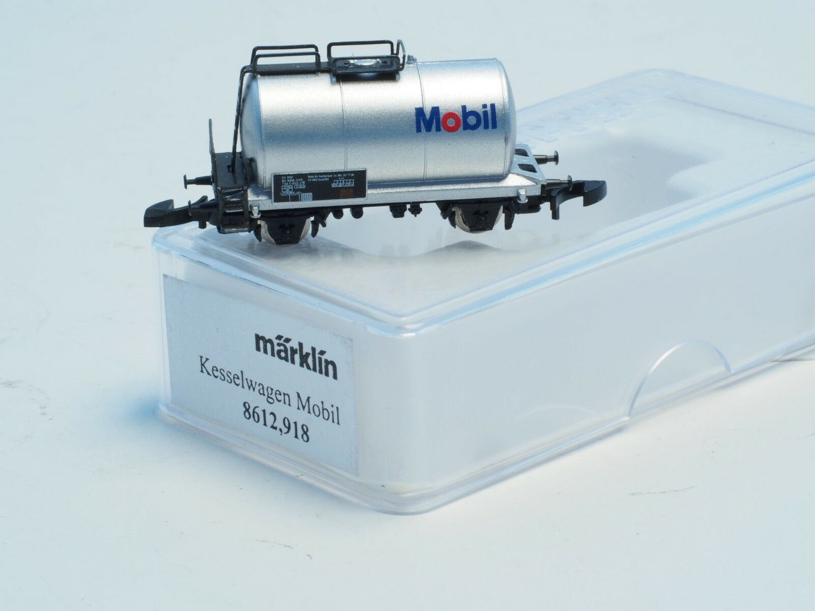 8612.918 Marklin Z-scale MOBIL Tank car Special Edition, very limited release