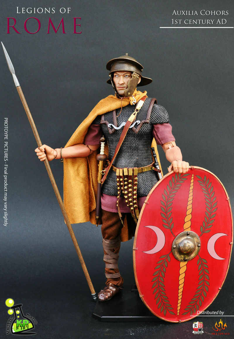 Escala 1/6 Kaustic Plastik KP13 legiones de Roma auxilia Cohors (unidad auxiliar)