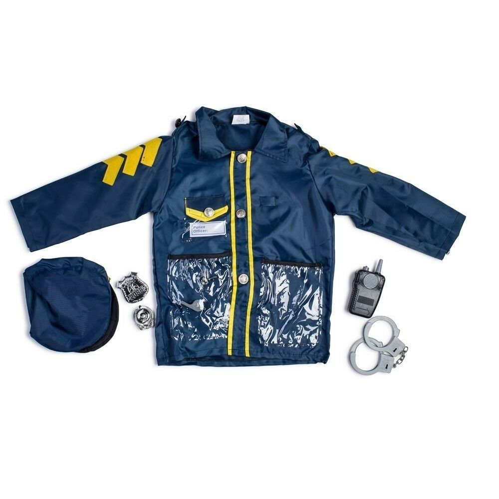 Little Boy Police Officer Role Play Dress Up Set By Dress up America - Ages 3-7