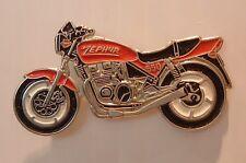 GENUINE KAWASAKI ZEPHYR MOTORCYCLE ZR550 PIN BADGE RED 550 ZR VERY LTD STOCK