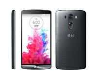 Black Unlocked Lg G3 5.5'' Touchscreen 32gb 4g Lte Android Mobile Phone (d855)