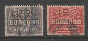 Brazil-KEY-VALUES-Cinderella-or-Revenue-stamp-3-21-20-scarce