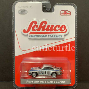 Schuco-Porsche-911-930-1-64-Limited-2400-Pieces-Martini-Racing-8-Silver-8800
