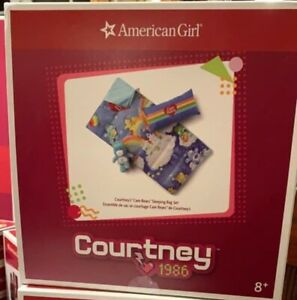 AMERICAN GIRL COURTNEY/'S CARE BEARS PAJAMAS ~no doll~ NIB NEW SAME DAY SHIPPING!
