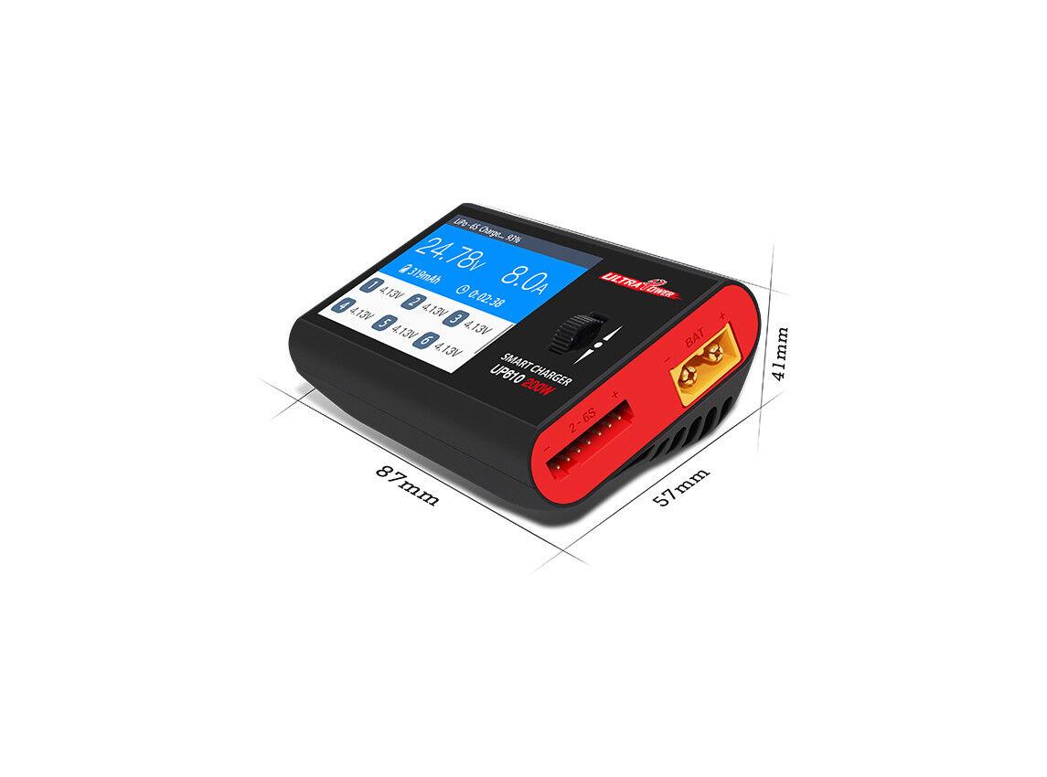 Tecnología de alimentación ultra-UP610 200 W Multi-química DC Cochegador compacto
