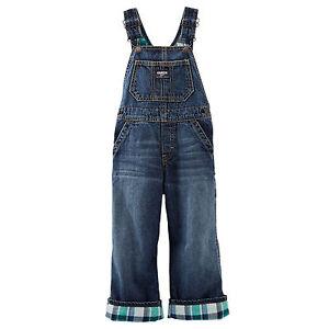 oshkosh latzhose jeans hose karo madras gef ttert 80 86 98. Black Bedroom Furniture Sets. Home Design Ideas