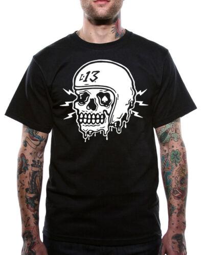Crâne Rod shirt 13 Hot Tatouage Lucky Kulture T Égouttement Kustom Hommes XOwnX0gx