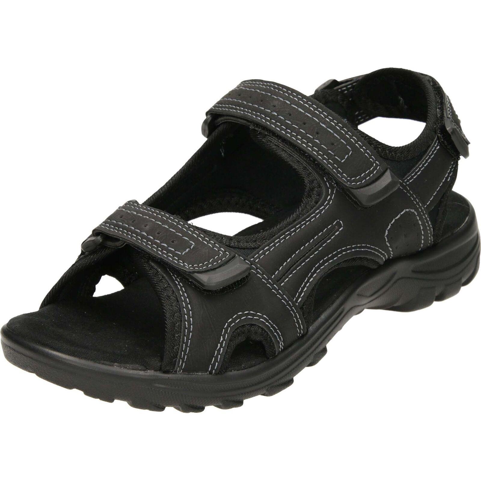 Dr Keller Touch Fastening Walking Outdoor Sandals Open Toe Summer Beach shoes