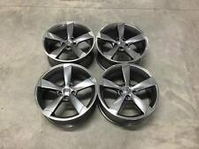 "18"" TTRS Style Wheels - Gun Metal Machined Audi A4 A6 A8 VW Golf MK5 MK6 MK7"