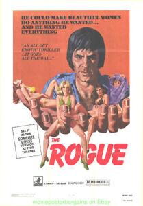 Nokaut-AKA-THE-ROGUE-MOVIE-POSTER-YUGOSLAV-Film-1971-Fld-27x41-BARBARA-BOUCHET