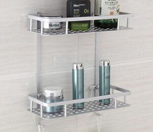 Incroyable Image Is Loading Aluminium Shower Shampoo Soap Storage Holder  Organizer Rack